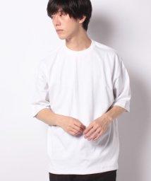 STYLEBLOCK/裾スピンドルビッグシルエット5分袖ビッグTシャツ/503389625