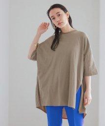 ADAM ET ROPE'/ポンチョTシャツ/503374023