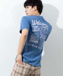 WEGO/レトロサーフティストTシャツ/503375216