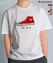 CONVERSE/【CONVERSE】 コンバース シューズサガラ  半袖 Tシャツ ユニセックス/503380207