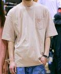 Amerikaya/オーバーサイズ ビックシルエット USコットン ポケット付き 無地 半袖 Tシャツ ユニセックス/503380220
