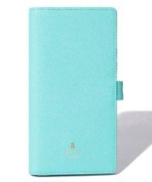 LANVIN en Bleu(BAG)/リュクサンブールカラー 大型スマホ対応 スライド式スマホケース/503395515