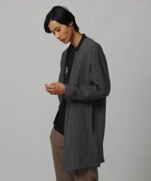 tk.TAKEO KIKUCHI/360度ストレッチノーカラー長丈ジャケット/503402365