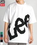 LEE/【LEE】【別注】 リー ビックロゴ プリント 半袖 Tシャツ ユニセックス/503380268