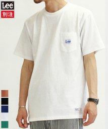 LEE/【LEE】【別注】 リー ピスポケ プリント 半袖 Tシャツ ユニセックス/503380271