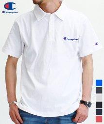 Champion/【Champion】 チャンピオン ロゴ 刺繍 半袖 ポロシャツ/503380285