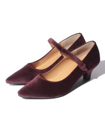 NICE CLAUP OUTLET/【every very nice claup】 ストラップ付レトロパンプス/503389828