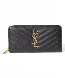 SAINT LAURENT/【SAINT LAURENT PARIS】Monogram Saint Laurent Full Zip Wallet/503393400