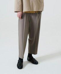 tk.TAKEO KIKUCHI/バーグマンストレッチワイドテーパードパンツ/503396219