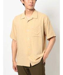 COTORICA./スプリットラグラン半袖オープンカラーシャツ/503403088