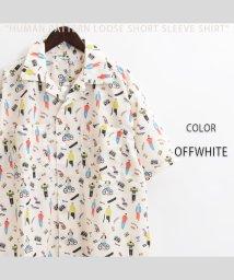 1111clothing/シャツ メンズ 半袖 シャツ レディース 半袖シャツ メンズ 半袖シャツ レディース ビッグシャツ メンズ 半袖 オーバーサイズ シャツ アロハシャツ ペアルッ/503403283