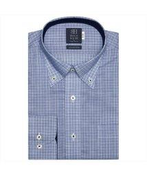 BRICKHOUSE/ワイシャツ 長袖 形態安定 ボタンダウン 綿100% 空き羽織 標準体 メンズ/503403491