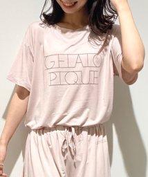 gelato pique/レーヨンロゴTシャツ/503404721