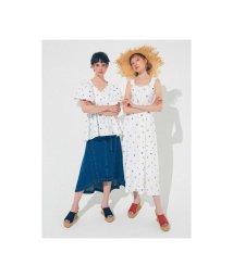 REDYAZEL/オリジナルフラワー刺繍ワンピース/503205377