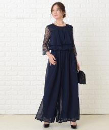 Lace Ladies/ロング丈 シフォン パンツドレス・セットアップ/503355839