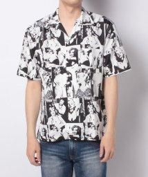 Amerikaya/オープンカラーシャツ モンロー柄 ユニセックス/503380248