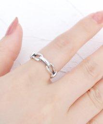 ninon/【silver925】3種類展開 スマイルリング/スターリング/チェーンリング/503404405