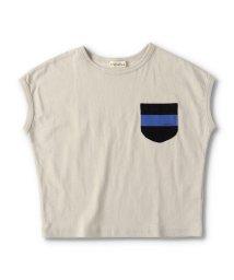 branshes/【プチプラ】ポケット付き袖Tシャツ/503406118
