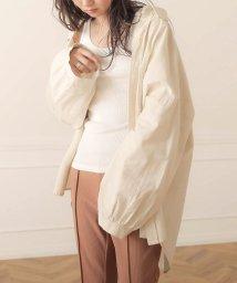 Bou Jeloud/【WEB限定】コットンリネンオーバーサイズシャツ/503406296