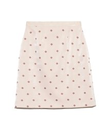 Lily Brown/小紋刺繍スカート/503406934
