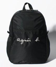 agnes b. ENFANT/GL11 E BAG ロゴ刺繍リュックサック/503390186