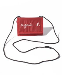 agnes b. ENFANT/GL11 E PORTEFEUILLE ロゴ刺繍 パスケース/財布/503390189