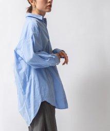 NOLLEY'S/ボリュームロングシャツ/503400688