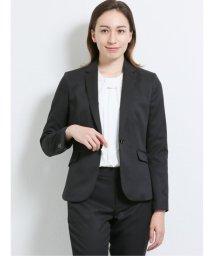 m.f.editorial/高機能ポリエステル 1ボタンジャケット+スカート+パンツ 黒チェック/503408222