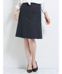 m.f.editorial/トラベスト/TRABEST セットアップ フレアースカート 紺ストライプ/503408224