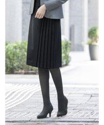 m.f.editorial/ダブルクロス セットアップ サイドプリーツスカート 紺/503408227