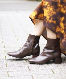 JOINT WORKS/【MAISON EUREKA/メゾン・エウレカ】 square short boot◆*/503408565
