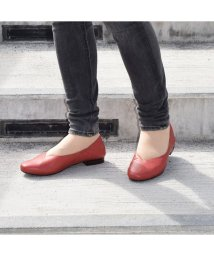 MODELLO WOMEN/モデロ MODELLO カカトのゴムで足を押さえしっかりとしたフィット感♪ ソフトバレエシューズ  DML5027 (オレンジ)/503410715