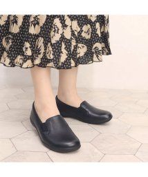 MODELLO WOMEN/モデロ MODELLO 日本人の足型にフィットする ソフトオブリーク・カジュアルスリッポン DML7102 (ブラック)/503410720