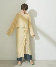 URBAN RESEARCH/AMOMENTO WRAP DRESS/503293236