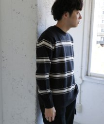 URBAN RESEARCH OUTLET/【DOORS】ボーダークルーネックニット/503391527