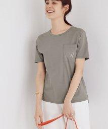 ROPE'/ロゴ刺繍Tシャツ/503397064