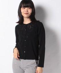 MADAM JOCONDE/ANA カットワーク刺繍 ニットカーディガン/503405375