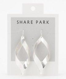 SHARE PARK /フラットリボンピアス/503411078