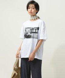 socolla/【socolla】5分袖フォトTシャツ/503411128