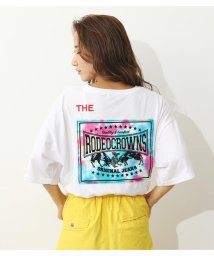 RODEO CROWNS WIDE BOWL/Tiedee patchビッグTシャツ/503411286