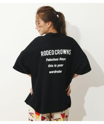 RODEO CROWNS WIDE BOWL/Back letterシャツ/503411293