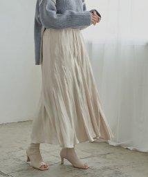 miette/タックマーメイドロングスカート/503411529