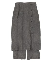 titivate/インナーパンツ付ふわっとタッチニットスカート/503412014