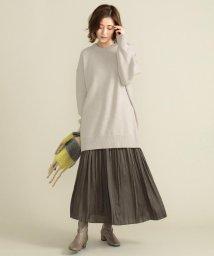 SHARE PARK /【定番人気】サテンプリーツロングスカート/503413519