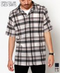 Amerikaya/オープンカラーシャツ チェック柄/503389663