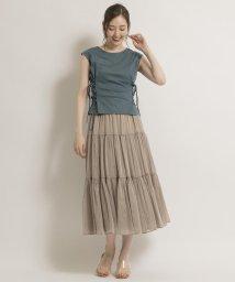 And Couture/トランスペアレントティアードスカート/503399771