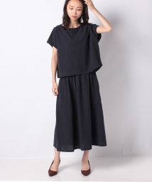 MELROSE Claire/セットアップ風ロングワンピース/503403276