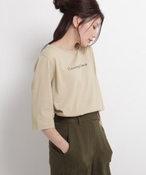 Dessin/【XS~Lサイズあり・洗える】汗染み軽減ロゴTシャツ/503415412