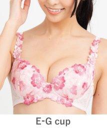 fran de lingerie/GRACE Flower Petal らくらく補正グレースフラワーペタル コーディネートブラジャー E65-G90カップ/503415725