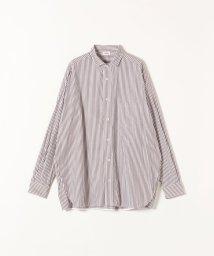 SHIPS any WOMENS/TICCA:ストライプスクエアビッグシャツ/503415895